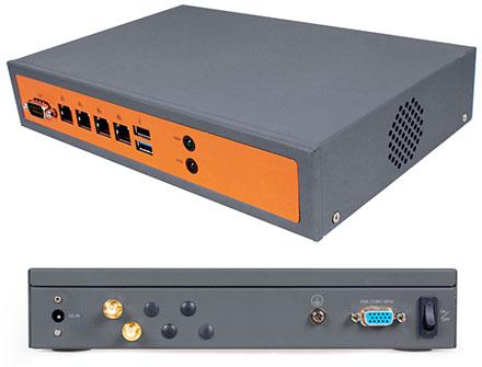 Jetway JBC130F533M4W-19G (Intel Bay Trail) [4x LAN, WLAN]