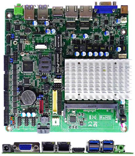 Jetway JNF695HV-3455 (Intel Apollo Lake) [10x COM, 1x HDMI]