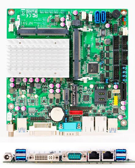 Jetway NF591-3160 (Intel Braswell Celeron)