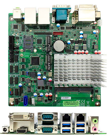 Jetway NF596-3160 (Intel Braswell)
