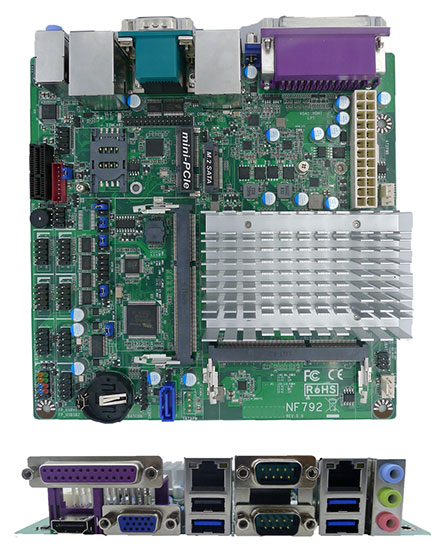 Jetway NF792-3160 (Intel Braswell)