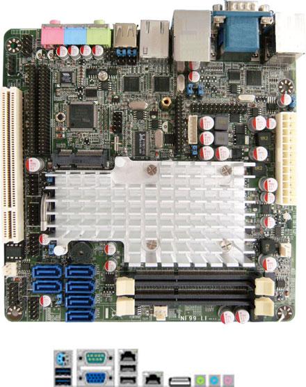 Jetway NF99FL-525 (Intel Pine Trail-D)