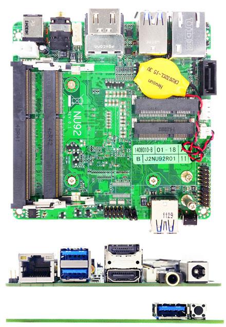 Jetway NU92-4300U (Intel Haswell-U)