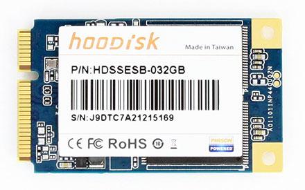 Kingfast/hoodisk HDSSESB-032GB mSATA SSD 32GB