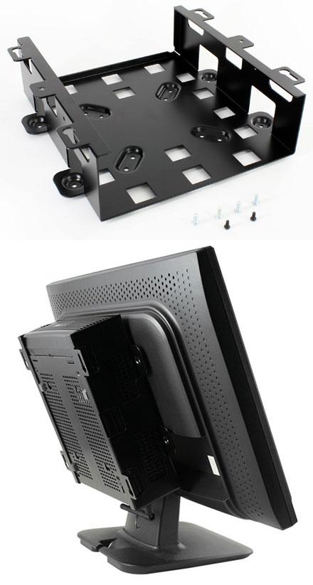 VESA-mounting f. combi display and M350 enclosure