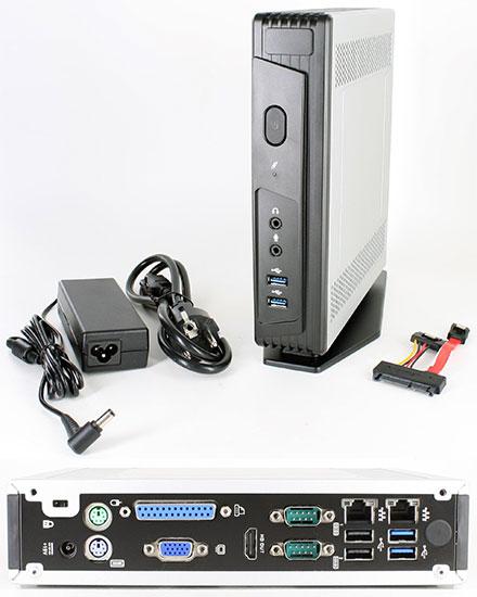 Mitac Pluto E230 (Intel Apollo Lake J3355 2x 2 5Ghz, 2x Gigabit LAN,  VGA/HDMI, 2x RS232) [FANLESS]
