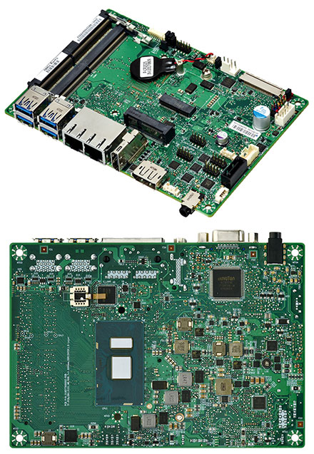 Mitac PD11KS 3.5-SBC (Intel Kaby Lake, i7-7600U, VGA+dP)