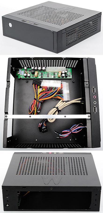 Morex Mini-ITX enclosure CASO 3010 (80W)