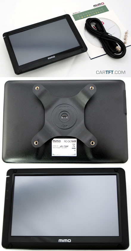 "Nanovision MIMO UM-720F (7"" USB Touchscreen Display, <b>VESA</b>)"