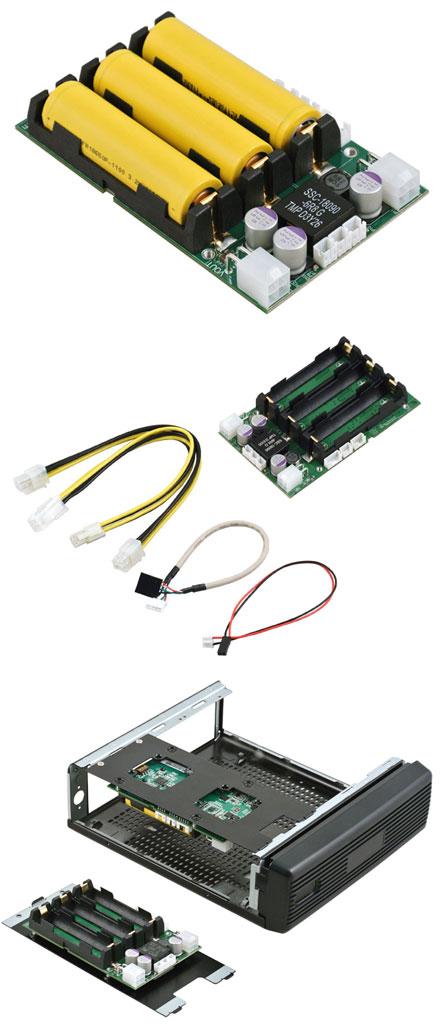 """OpenUPS2 (11-24V Input, 12-24V Output 5A, programable backup-interface, 2.5"""" format)"""