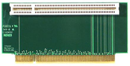 PCI Riser (Abgewinkelt, 49mm hoch)