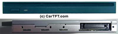 SLIM-LINE DVD-ROM & CD-R/RW Panasonic <b>SLOT-IN</b>