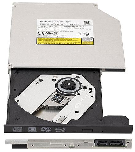 SLIM-LINE DVD+-R/RW Blu-ray XL Panasonic SATA (UJ-272) [9.5mm]