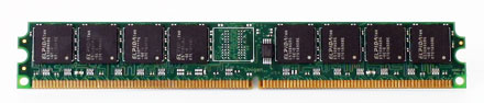 """RAM 1024MB DDR-II 533Mhz -- low profile 0,8"""" inches high"""
