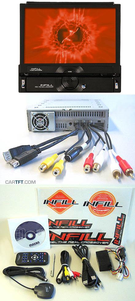 Infill S3 InDash Car-PC (1.0Ghz, 40GB HDD, 512MB RAM)