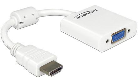 HDMI(HDMI-A)-zu-VGA converter cable (Delock 65346)