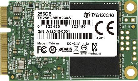 Transcend mSATA SSD 256GB MSA230S (TS256GMSA230S)