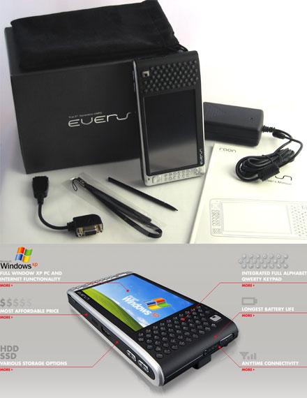 UMPC Raon Digital Everun S60H (600Mhz, 60GB, 512MB RAM) *new*