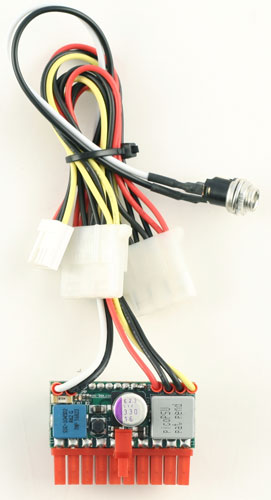 picoPSU-120-WI-25V DC/DC PC ATX power supply (Fanless, 120 Watt)