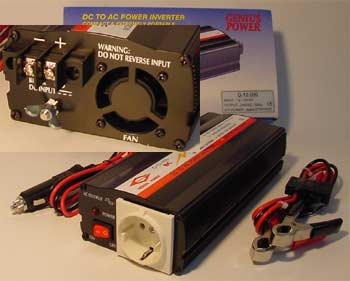 Power Inverter 600/800 Watts
