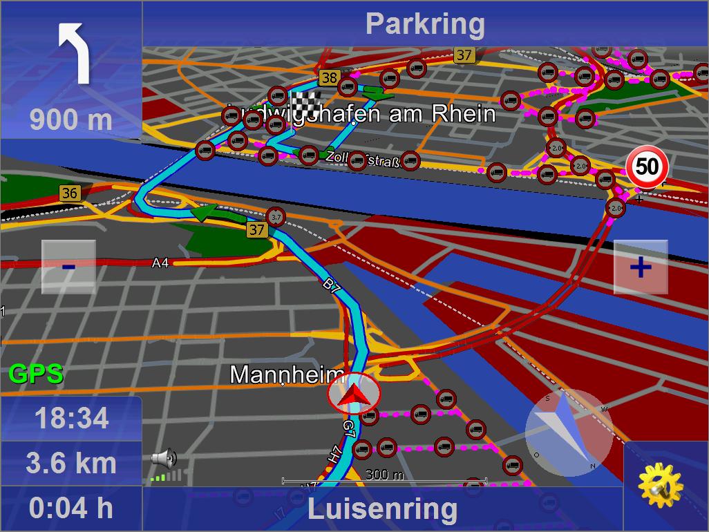 map&guide truck navigator 7.5