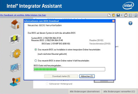 Intel Integrator Assistant Windows Vista 64-BIT